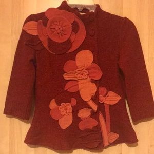 Anthropologie Sweaters - Anthropologie folklore embroidered sweater